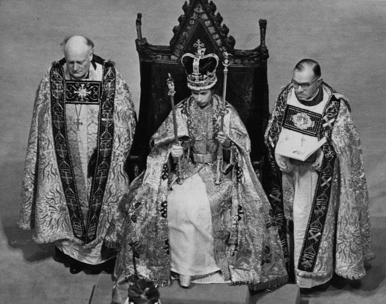 Queen Elizabeth II in St Edward's Crown