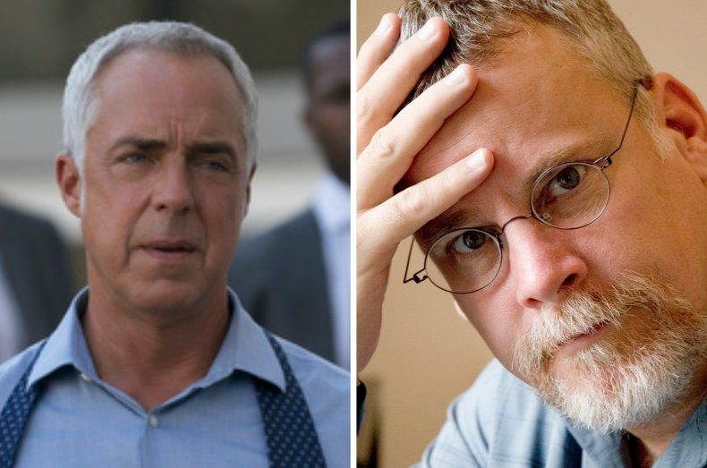 Titus Welliver and Michael Connelly