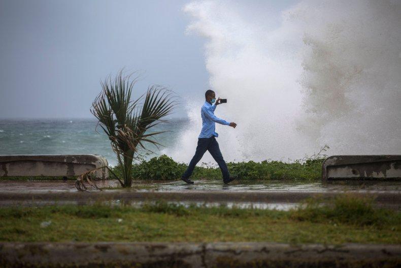 Santo Domingo storm