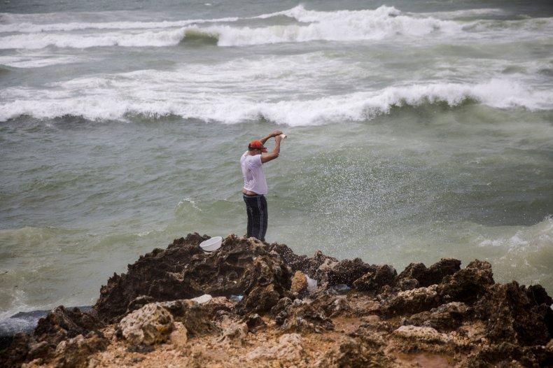Santo Domingo before the storm