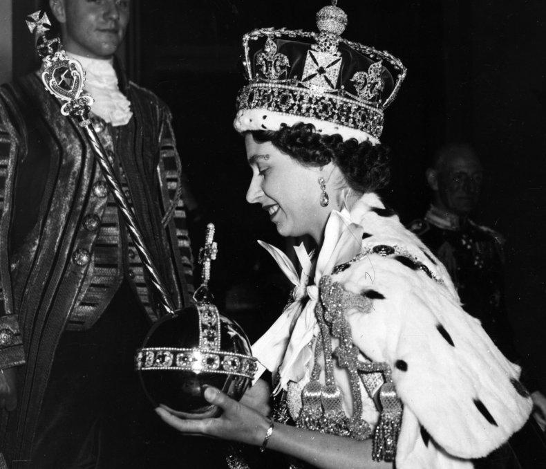 Queen Elizabeth's Orb and Sceptre