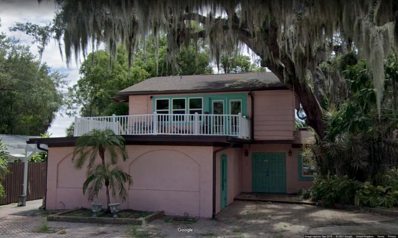 Google image of Florida house for sale.
