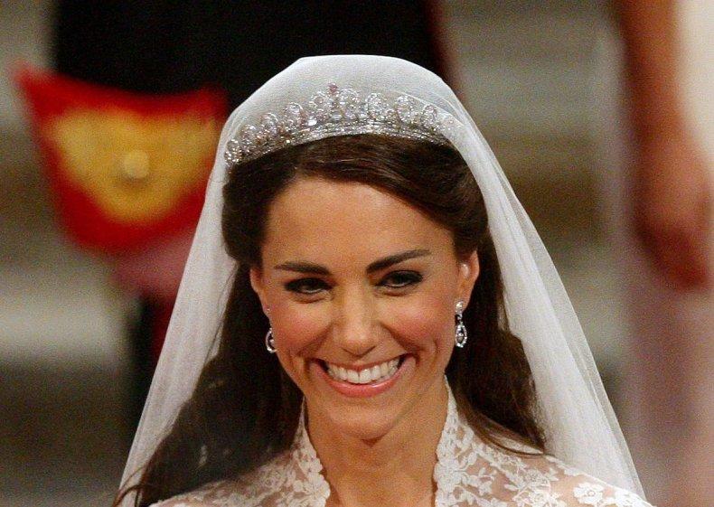 Kate Middleton's Wedding Tiara