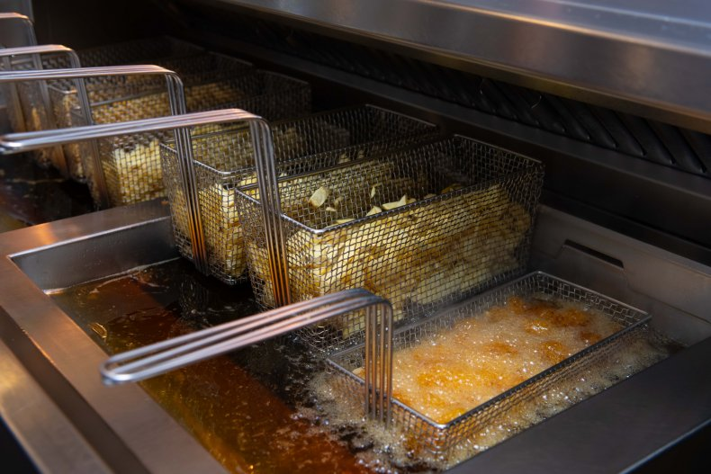 Deep Fryer Food Truck Crash