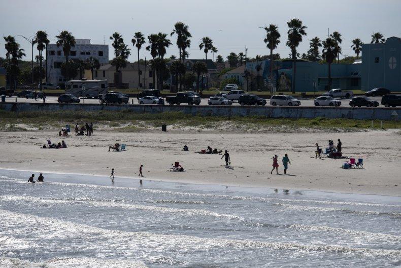Texas Beaches Unsafe Bacteria