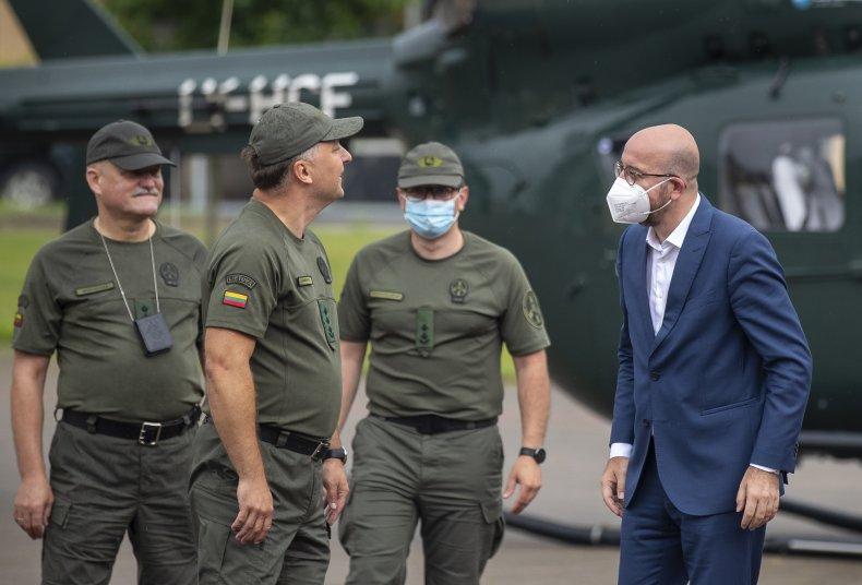 Lithuania border crisis