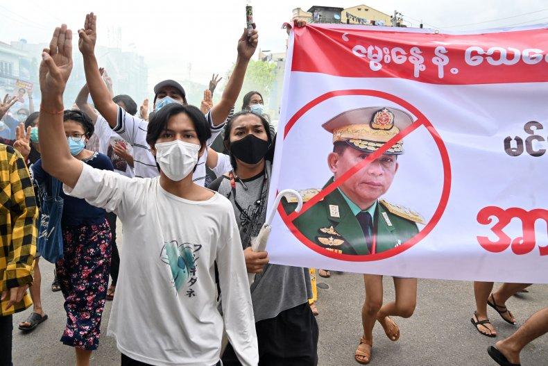 Citizen Protests in Myanmar