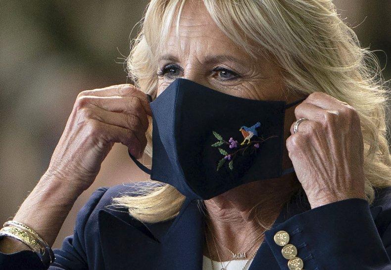 Jill Biden Mask