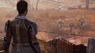 Knight Shin Leaves Fort Atlas