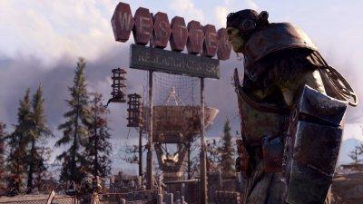 A Super Mutant in Fallout 76