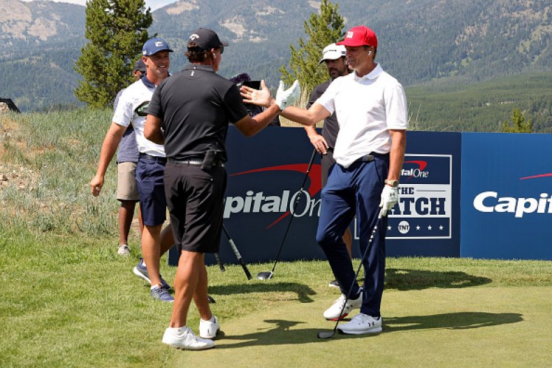 Tom Brady and Phil Mickelson