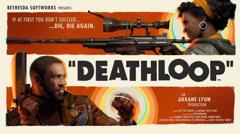 Promotional Artwork for Deathloop
