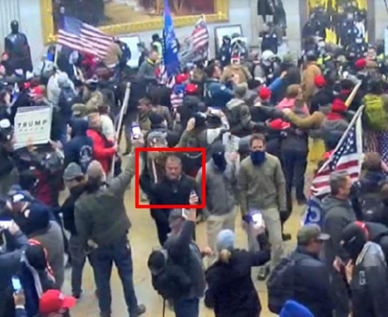 Capitol riots Kenneth John Reda