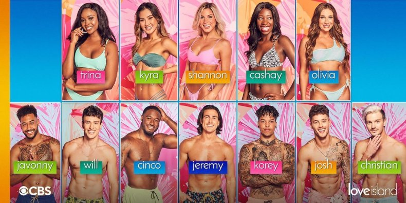 Love Island USA 2021 contestants