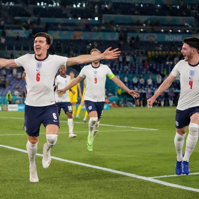 Harry Maguire and Declan Rice
