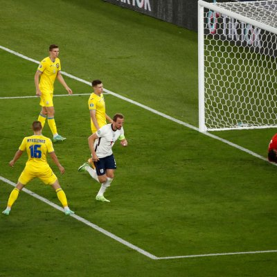 Harry Kane against Ukraine