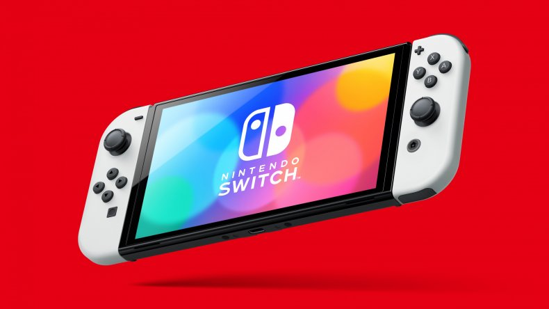 Promotional Artwork for Nintendo Switch OLED Model