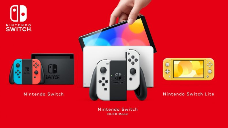 The Nintendo Switch Family