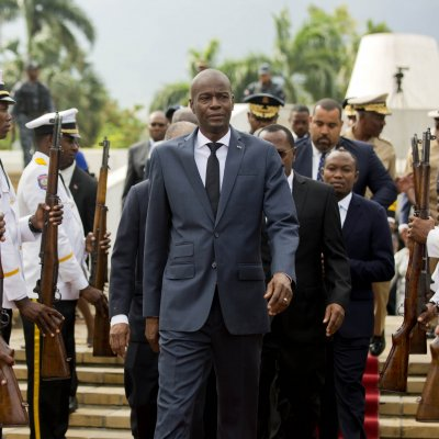 Haiti President Jovenel Moise.