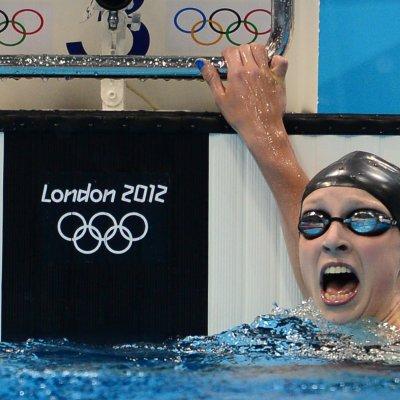 Katie Ledecky at the 2012 London Olympics