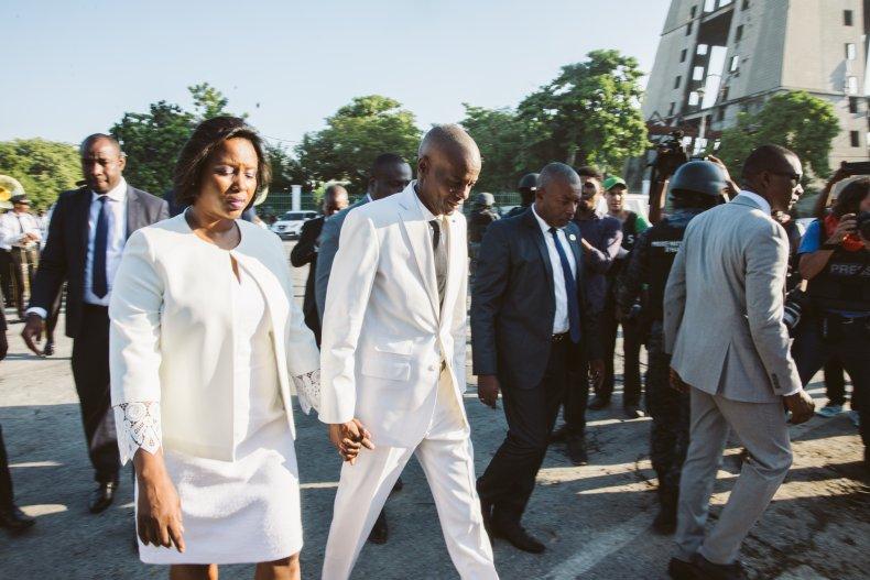 martine moise first lady haiti president wife