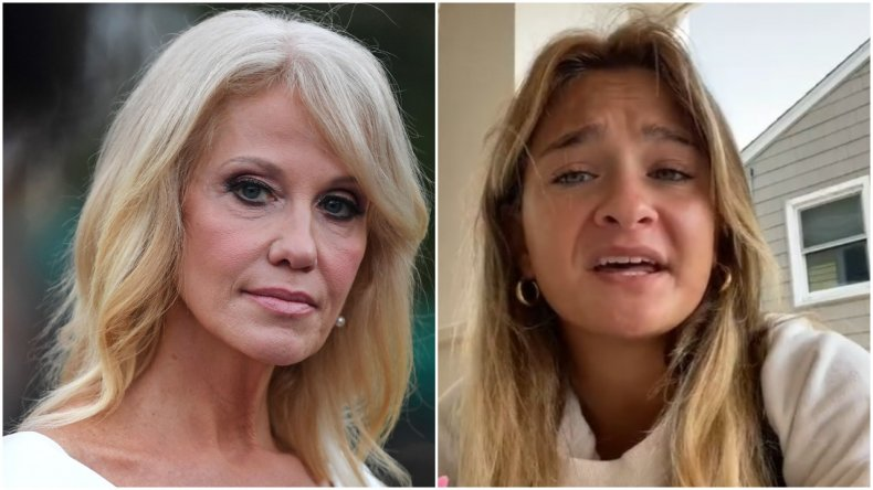 Kellyanne Conway and her daughter Claudia