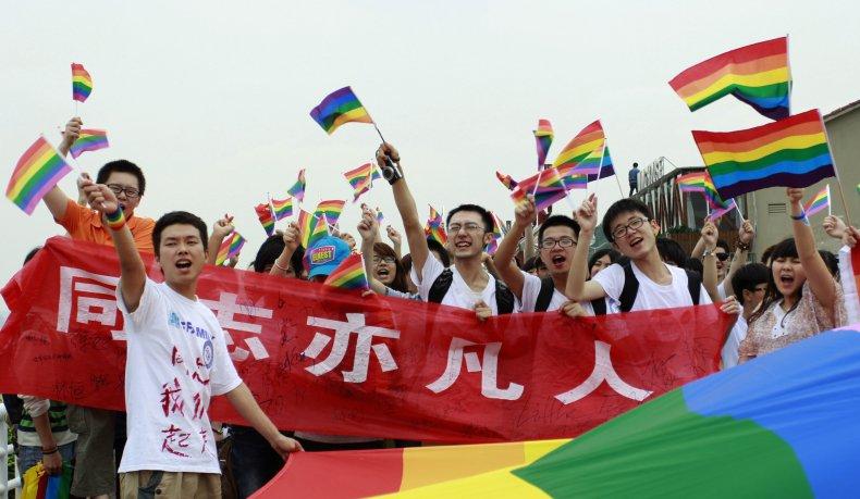 LGBT pride parade China