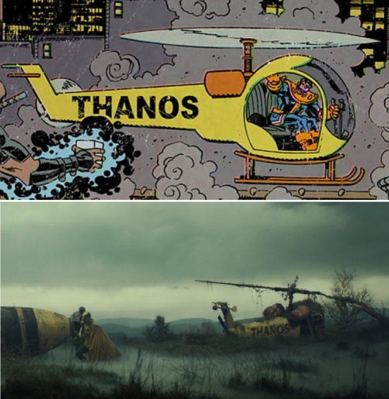 Thanoscopter in Loki