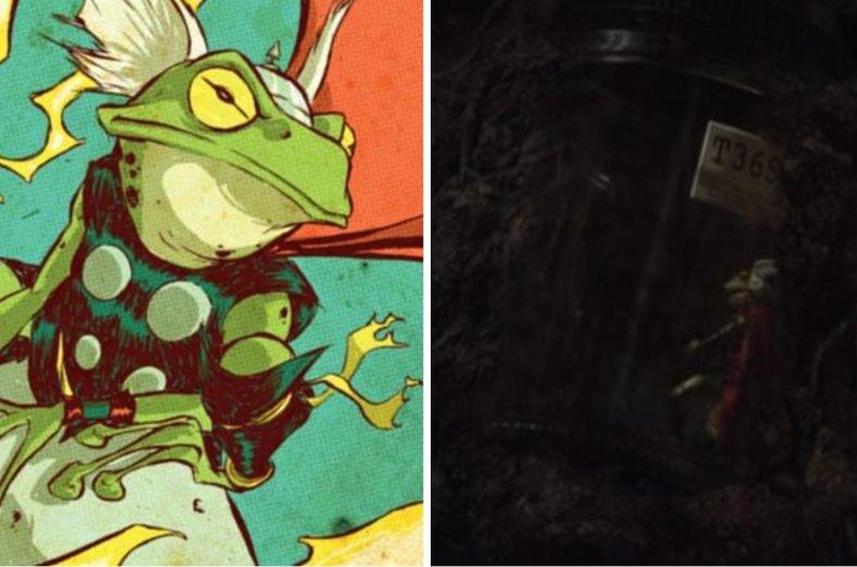 Frog Thor in Loki
