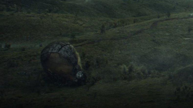 Yellowjacket helmet in Loki
