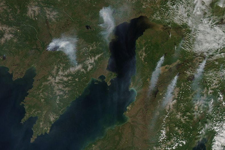 Five wildfires burn in Sakha, Russia