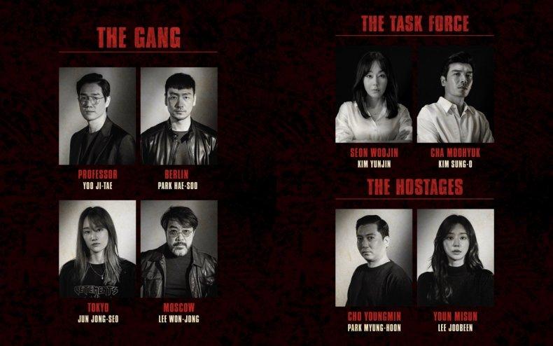 "The Korean ""La casa de papel"" series."