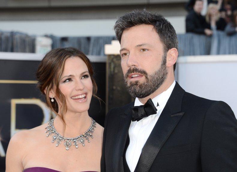 Jennifer Garner and Ben Affleck at Oscars