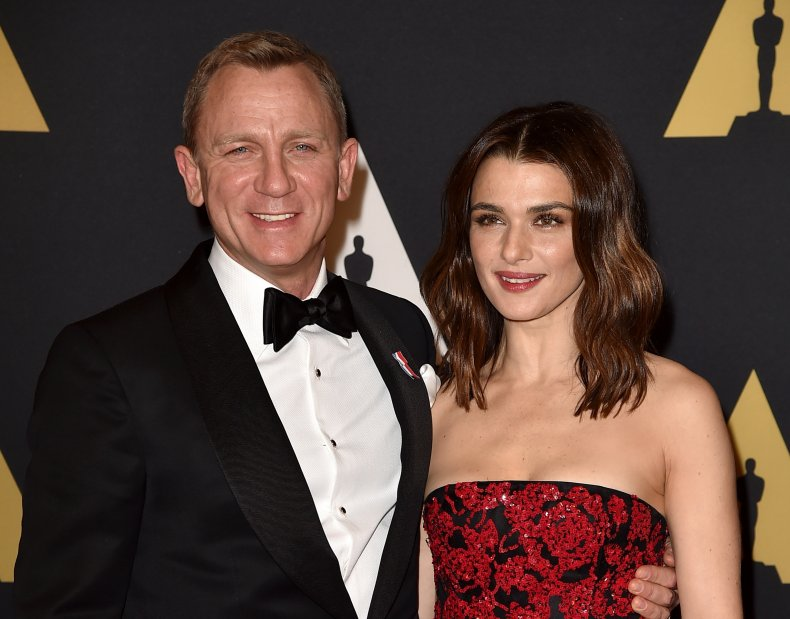 Daniel Craig and Rachel Weisz at Oscars