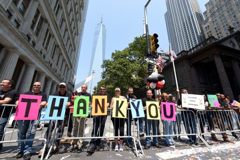 Unions Denounce New York 'Hometown Heroes' Parade