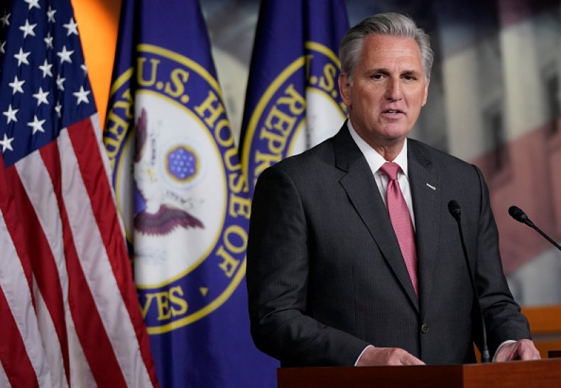 Kevin McCarthy January 6 Commission House Republicans