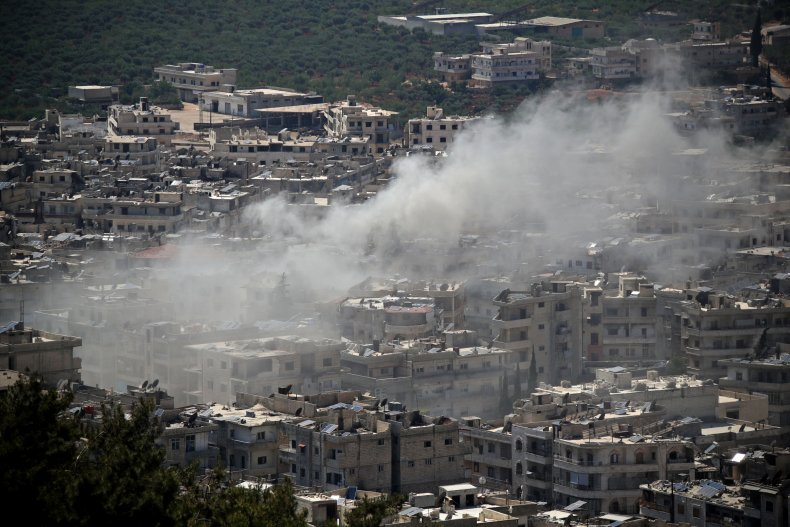 Syria, government, bombing, Ariha, Idlib