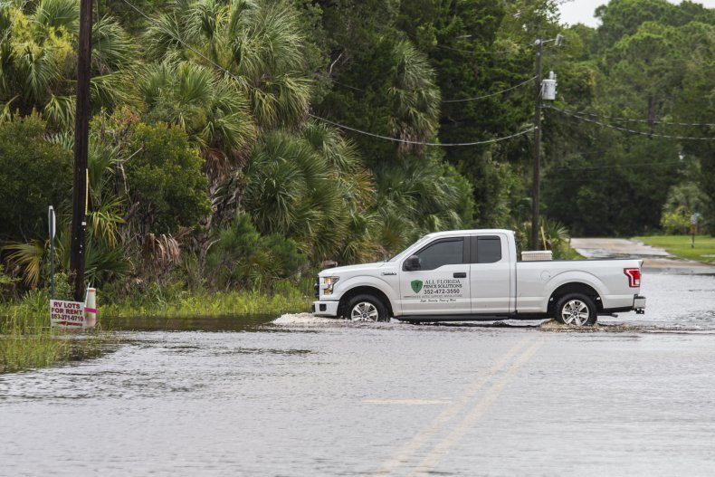 Flooding from Tropical Storm Elsa