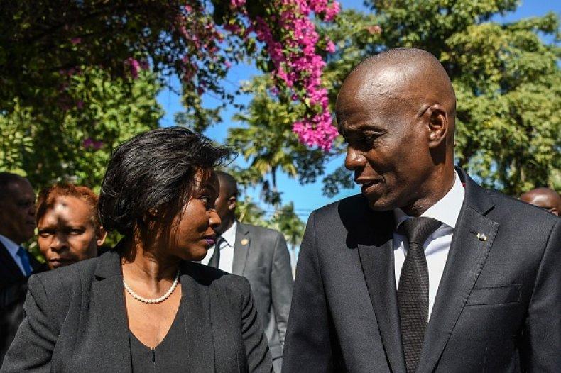 Martine Moise Jovenel Haiti Assassinaation