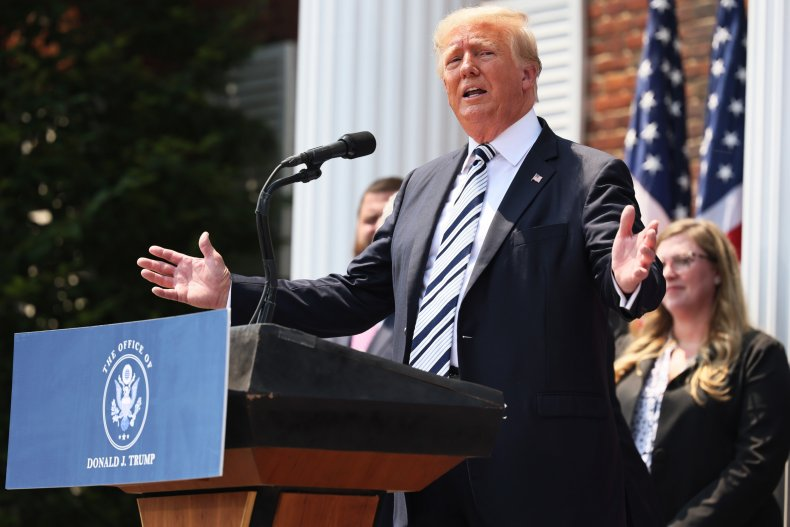 Donald Trump And America First Policy Institute