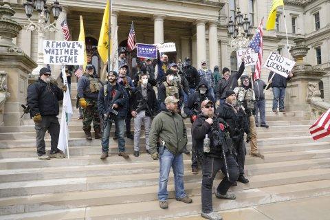 Whitmer protest