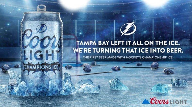 Tampa Bay Lightning Coors Light