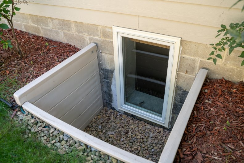 File photo of a basement window.
