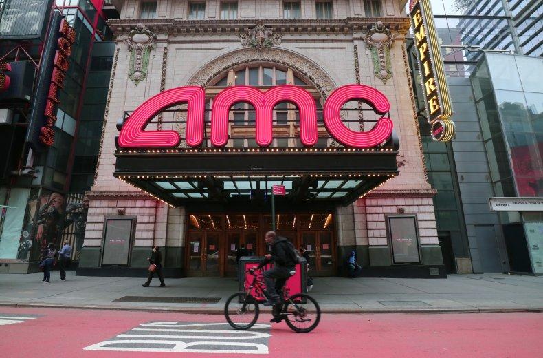 AMC movie theater NYC