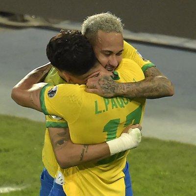 Neymar at the Copa America