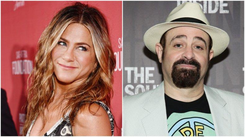Jennifer Aniston and her ex Adam Duritz