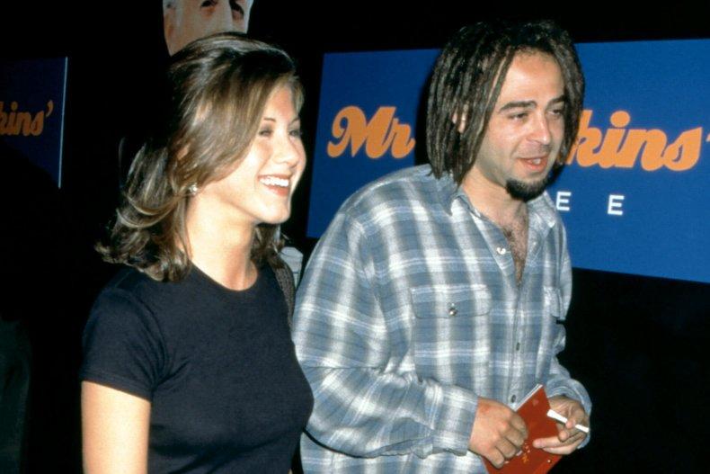Jennifer Aniston and Adam Duritz