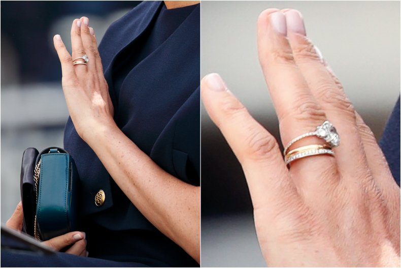 Meghan Markle's Updated Engagement Ring