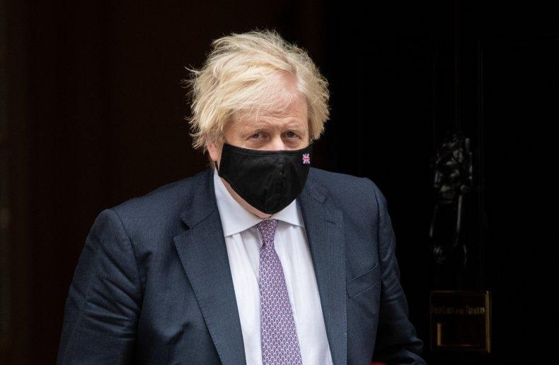 U.K. PM Boris Johnson Exits Downing Street