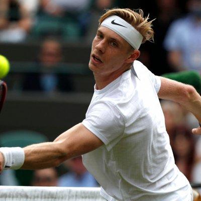 Denis Shapovalov at Wimbledon